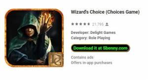 Choix du magicien (jeu de choix) + MOD