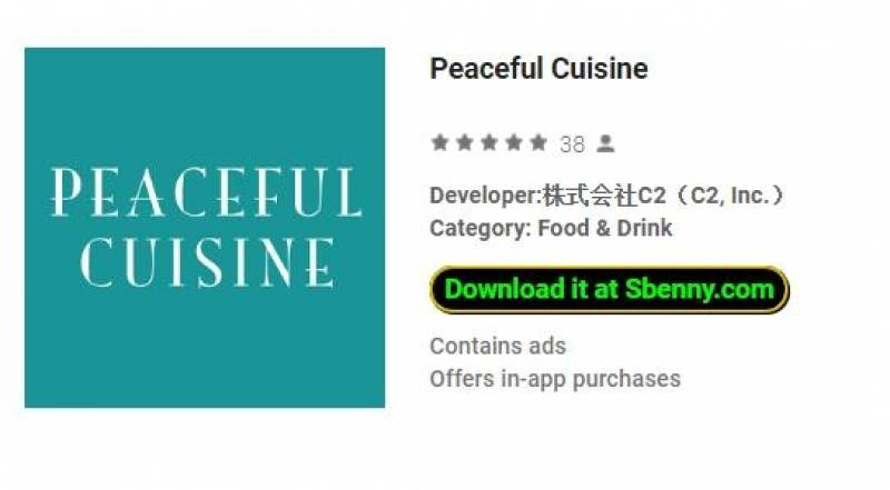 Peaceful Cuisine + MOD