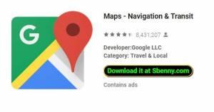 Cartes - Navigation & amp; Transit