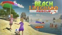 Spiaggia di soccorso del bagnino della squadra + MOD