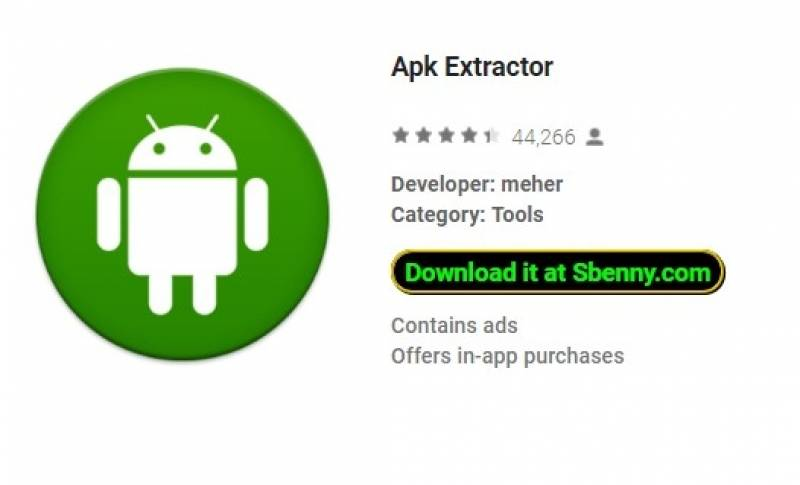 Apk Extractor + MOD