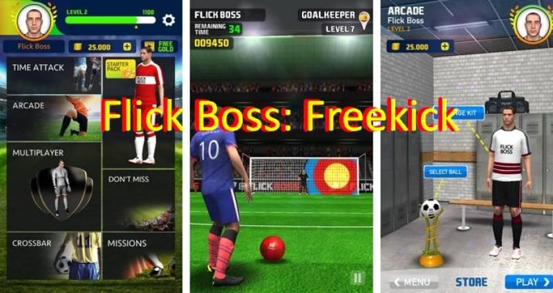 Flick Boss: Livre + MOD