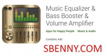 음악 이퀄라이저 & amp; 베이스 부스터 & amp; 볼륨 증폭기 + MOD