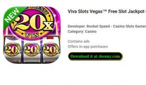 Viva Slots Vegas ™ Slot machine gratuito Jackpot Casino Games + MOD