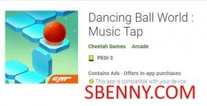 Танцующий мяч World: Music Tap + MOD