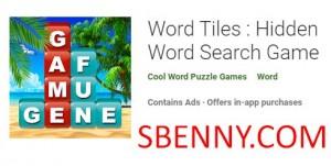 Word Tiles: Juego de búsqueda de palabras ocultas + MOD