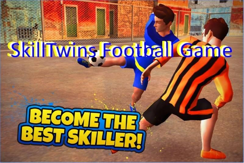 SkillTwins Football Game + MOD