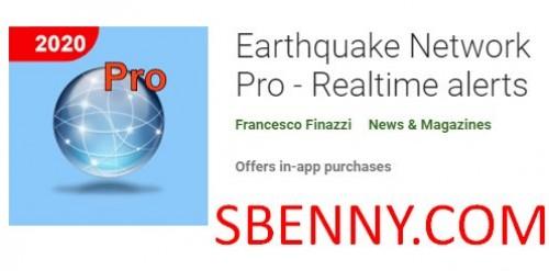 Earthquake Network Pro - هشدارهای بیدرنگ
