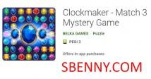 Clockmaker - Match 3 Mystery Game + MOD