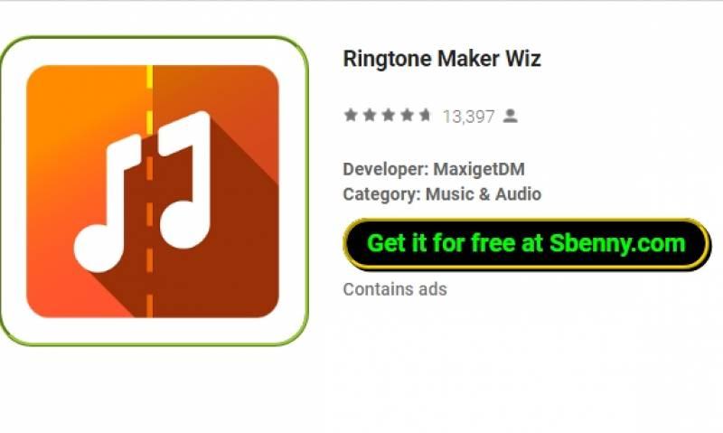Maker Ringtone Wiz + MOD