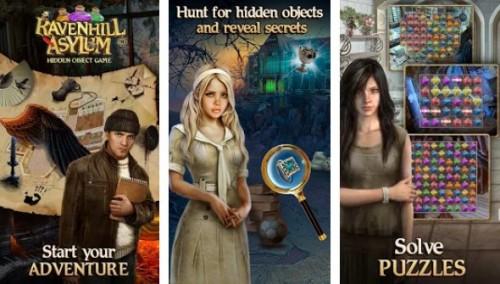 Ravenhill Asylum: Hidden Object Game + MOD