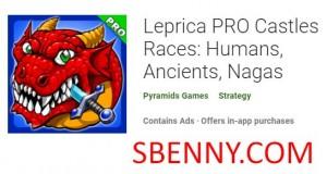 Leprica PRO Castles نژادها: انسان ها، عالم، ناگاس
