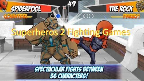 Superheros 2 Fighting Games + MOD