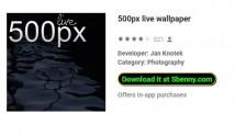 500px live wallpaper + MOD