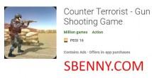 Contre terroriste - Jeu de tir avec arme à feu + MOD