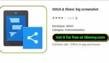 Stich & amp; Share: großer Screenshot + MOD