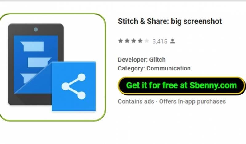 Stitch & amp; Compartir: gran pantalla + MOD