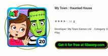 My Town : Haunted House + MOD