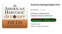 American Heritage English Free + MOD