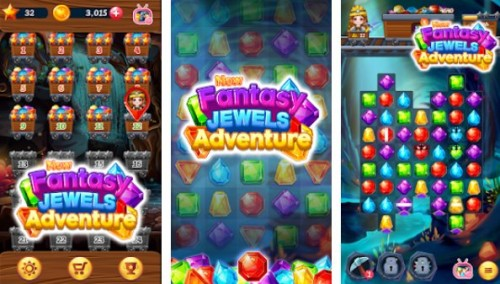 New Fantasy Jewels Adventure: Puzzle Land + MOD