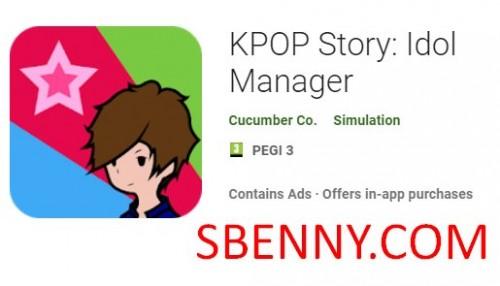 Histoire KPOP: Idol Manager + MOD