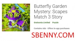 Butterfly Garden Mystery: Scapes Match Histoire 3 + MOD