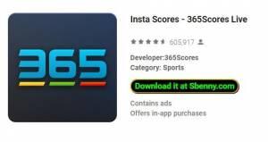 Insta Ergebnisse - 365Scores Live + MOD