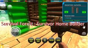 Лес выживания: Survivor Home Builder + MOD