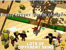 Crossy Creeper :Heroe of Clans + MOD