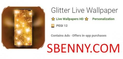 Glitter Live Wallpaper + MOD