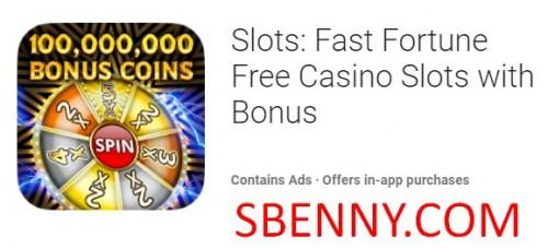 Slots: Schnelle Fortune Free Casino Slots mit Bonus + MOD