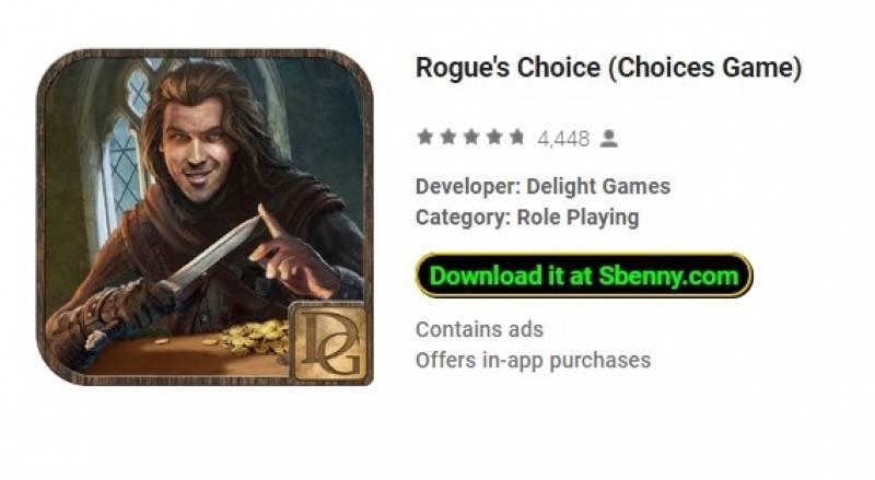 Rogue's Choice (Jeu de choix) + MOD