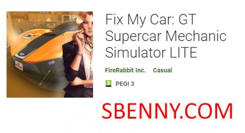 Fix My Car: GT Supercar Mechanic Simulator LITE + MOD