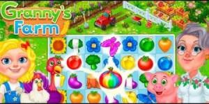 Granny's Farm: Free Match 3 Game + MOD