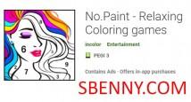 No.Paint - Jeux de coloriage relaxants + MOD