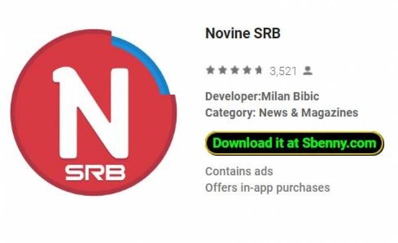 Novine SRB + MOD