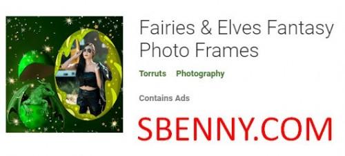 Feen & amp; Elfen Fantasy Fotorahmen + MOD