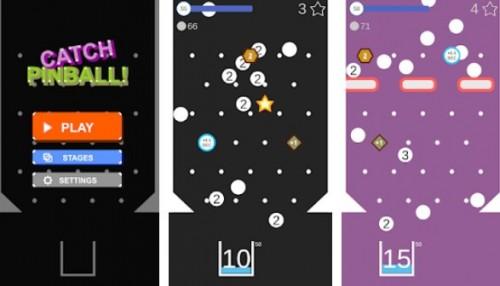 Pinball Catch: Casual & amp; Amusement