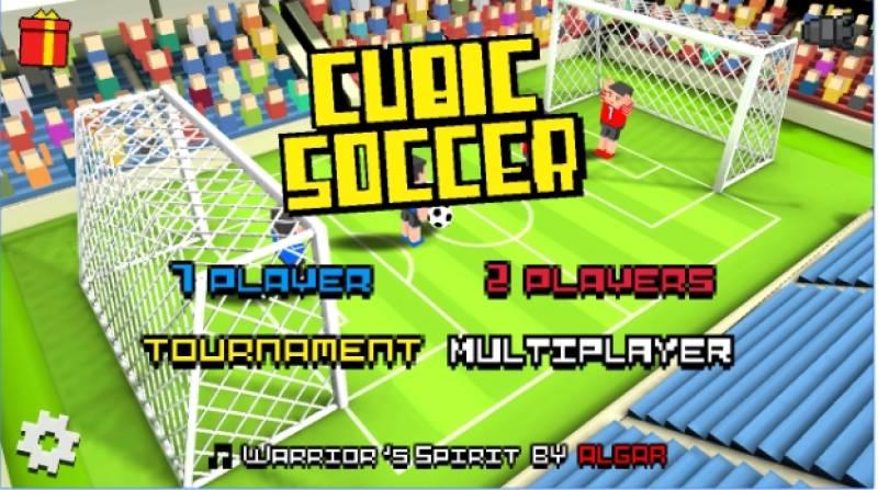 Cubic Futebol 3D + MOD