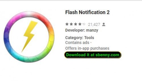 Notifica flash 2 + MOD