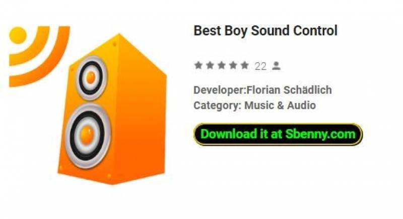 Best Boy Sound Control + MOD
