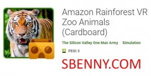 Amazon Rainforest VR Zoo Animals (Картон)