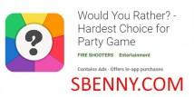 Вы бы лучше? - Самый сложный выбор для Party Game + MOD