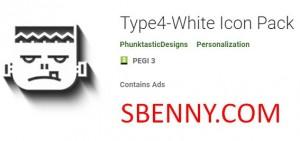 بسته آیکون Type4-White + MOD