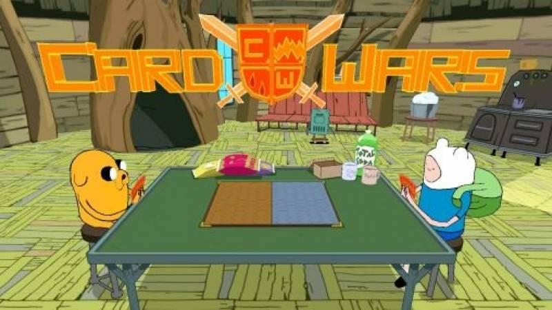 Karte Wars: Adventure Time + MOD