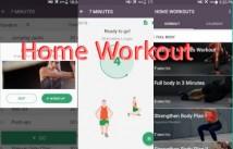 Home Workout - Nenhum equipamento e amp; Planejador de refeições + MOD