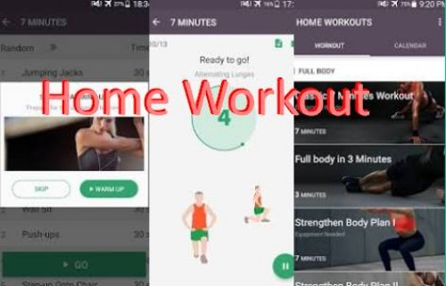 Home Workout - No Equipment & Meal Planner + MOD