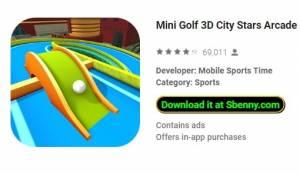 Minigolf 3D City Stars Arcade - Multiplayer + MOD