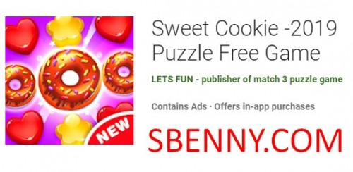 Cookie Sweet -2019 Puzzle Free Game + MOD