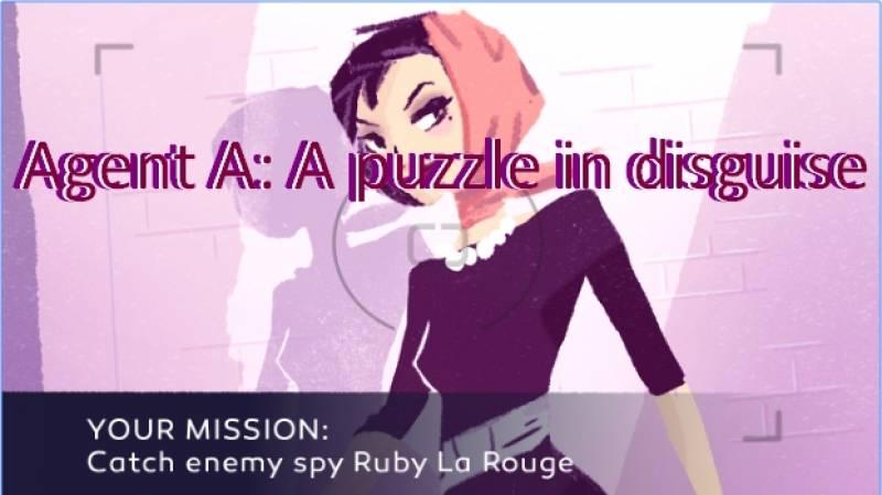 Aġent A: A puzzle moħbija